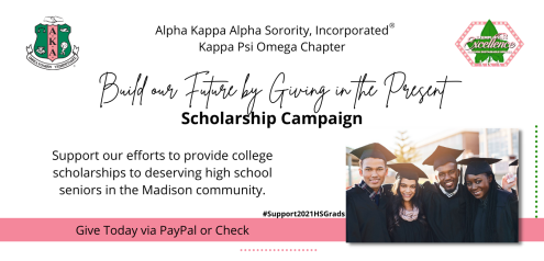 Kappa Psi Omega is sad to announce that our annual Men Who Cook scholarship event has been cancelled for 2021. There are so many deserving college-bound students in the Class of 2021 and we want to continue to support them. But we can't do it without you.